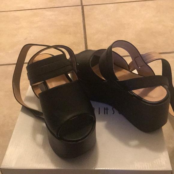 Fashion Nova Shoes   Black Platform